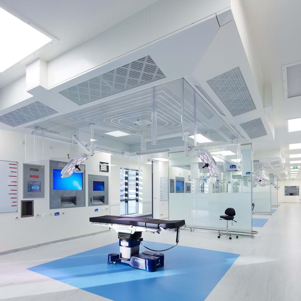 Procedure room Wrightington Hospital, Wigan.