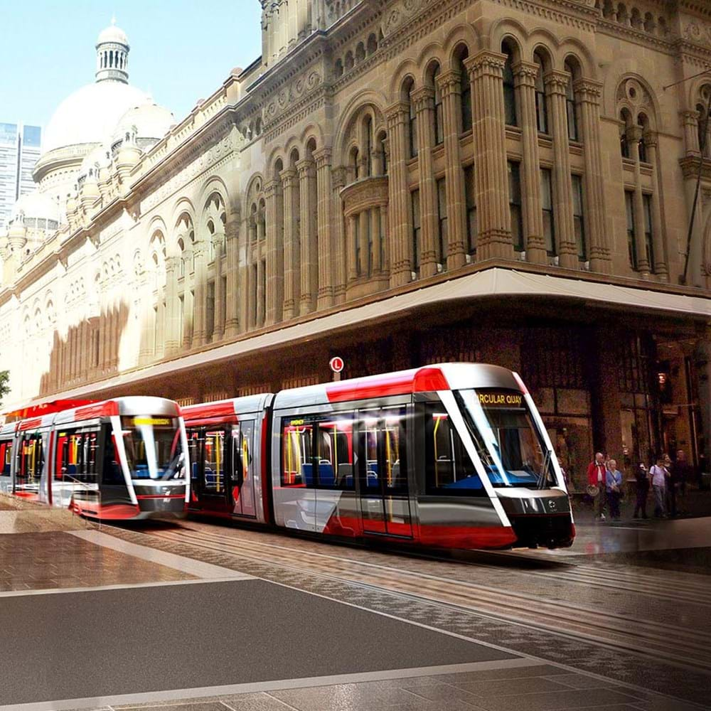 CBD and South East Light Rail, Sydney Australia