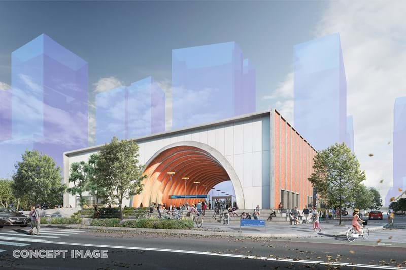 Concept design for Melbourne's Metro project