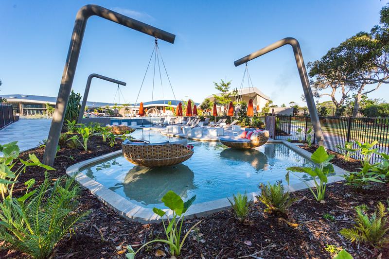 Elements of Byron resort
