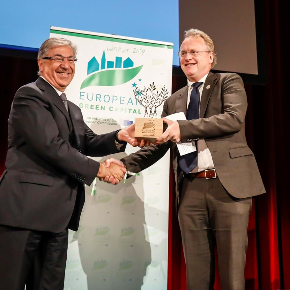 Awarding of the European Green Capitals Award