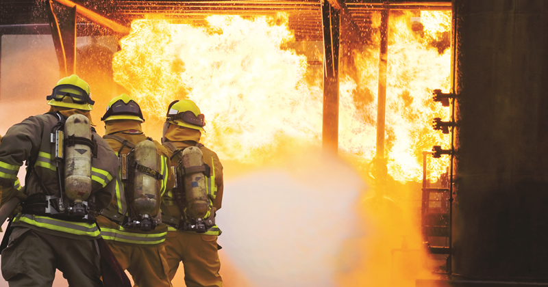 Firefighting equipment is transitioned to PFAS-free foam alternatives