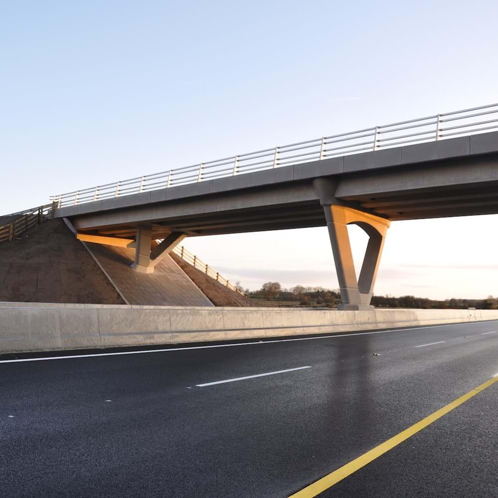 Treanbaun Bridge, M6 - Ireland