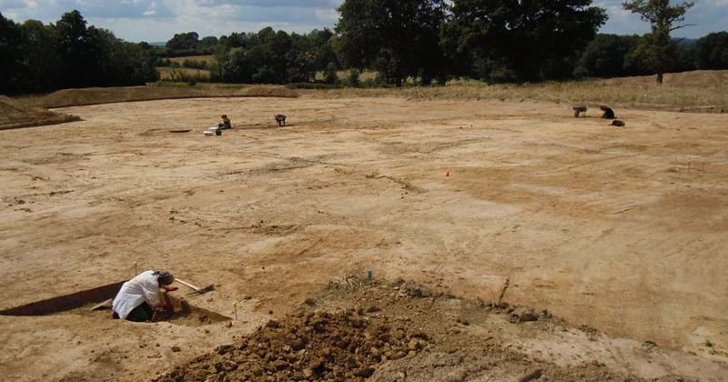Land East of Billingshurst - project image (Archaeological Excavations, Billingshurst).JPG