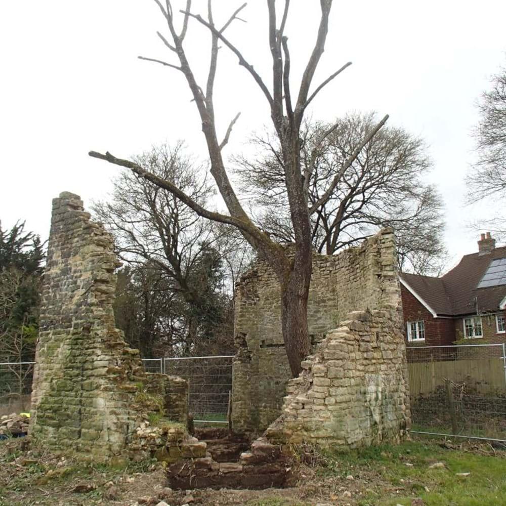 Land East of Billingshurst - project image (Ruins of 19th century mill, Billinshurst).jpg