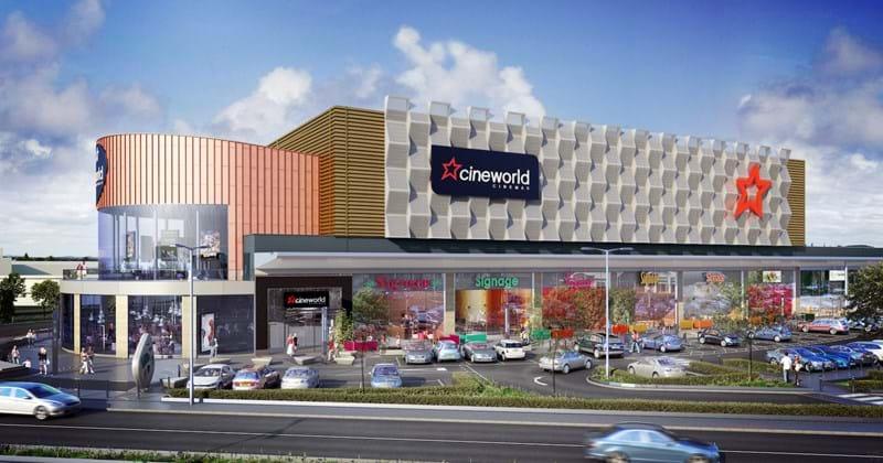 Speke retail park and cimena