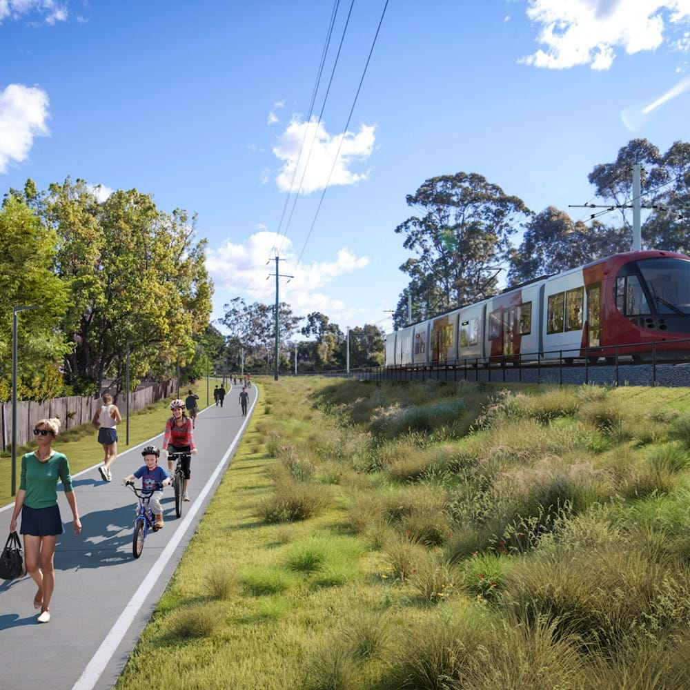 Parramatta Light Rail - Carlingford